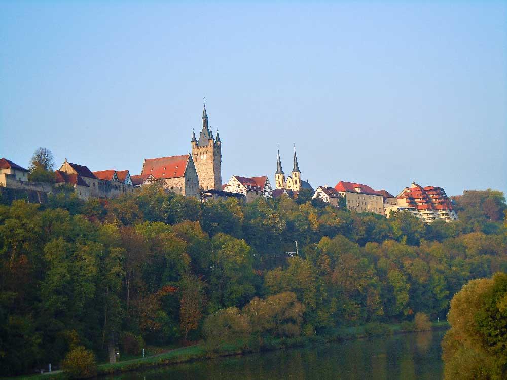 【バート・ヴィンプフェン】ドイツで最もシルエットの美しい街