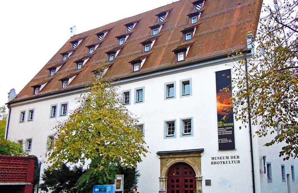 ドイツのウルムにあるパン文化博物館
