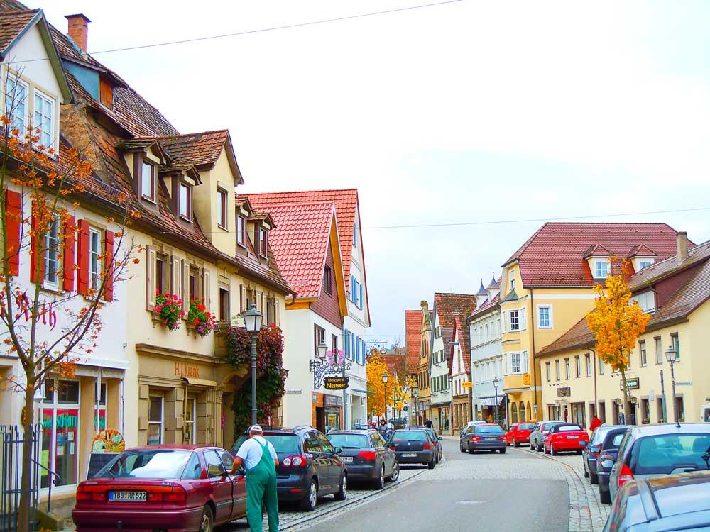 クレクリンゲンの街並み