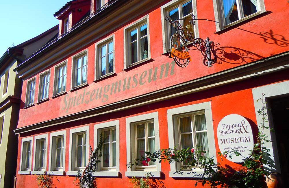 ローテンブルクの人形とおもちゃ博物館