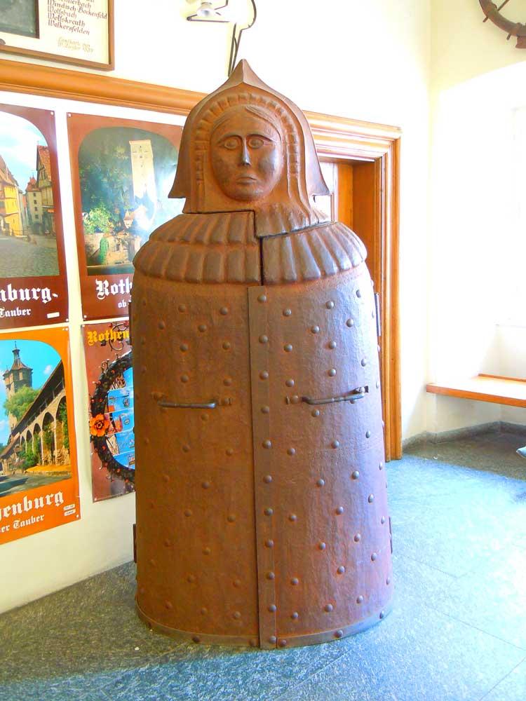 ローテンブルクの中世犯罪博物館