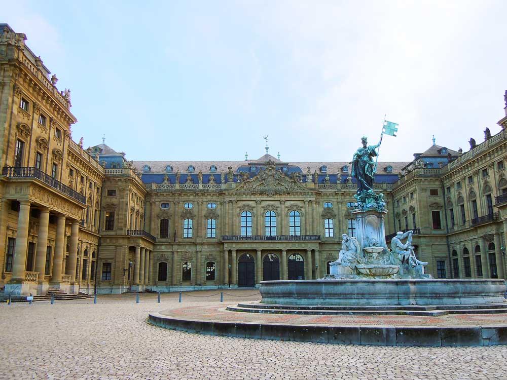 【レジデンツ】一度は訪れたい世界遺産/ドイツ・ヴュルツブルク
