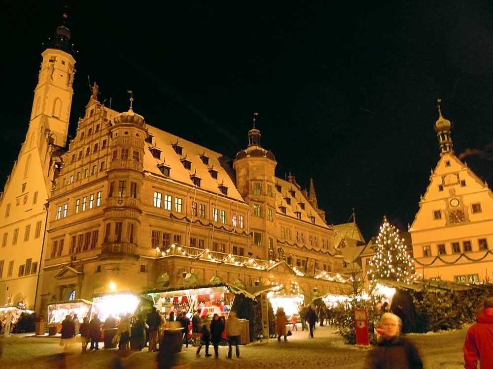 【ローテンブルク】ドイツのクリスマスマーケットめぐり
