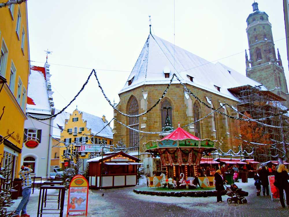 【聖ゲオルク教会】塔の上の番人/ドイツ・ネルトリンゲン