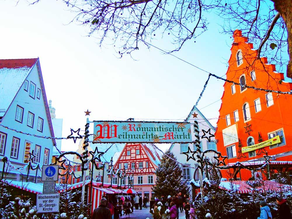 【ネルトリンゲン】ドイツのクリスマスマーケットめぐり