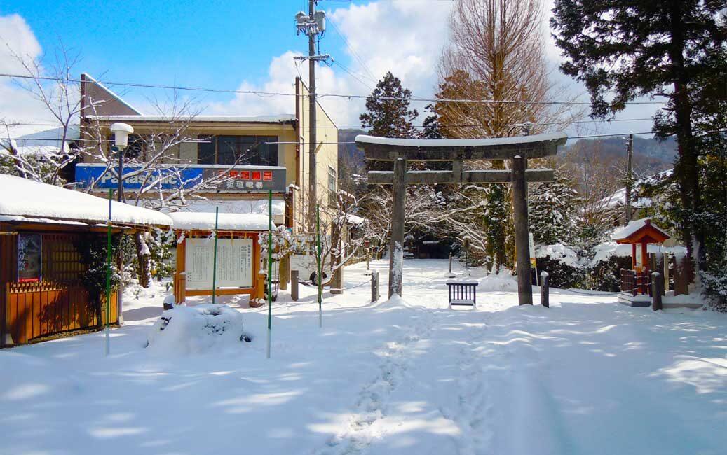 島根県出雲市にある須佐神社の写真