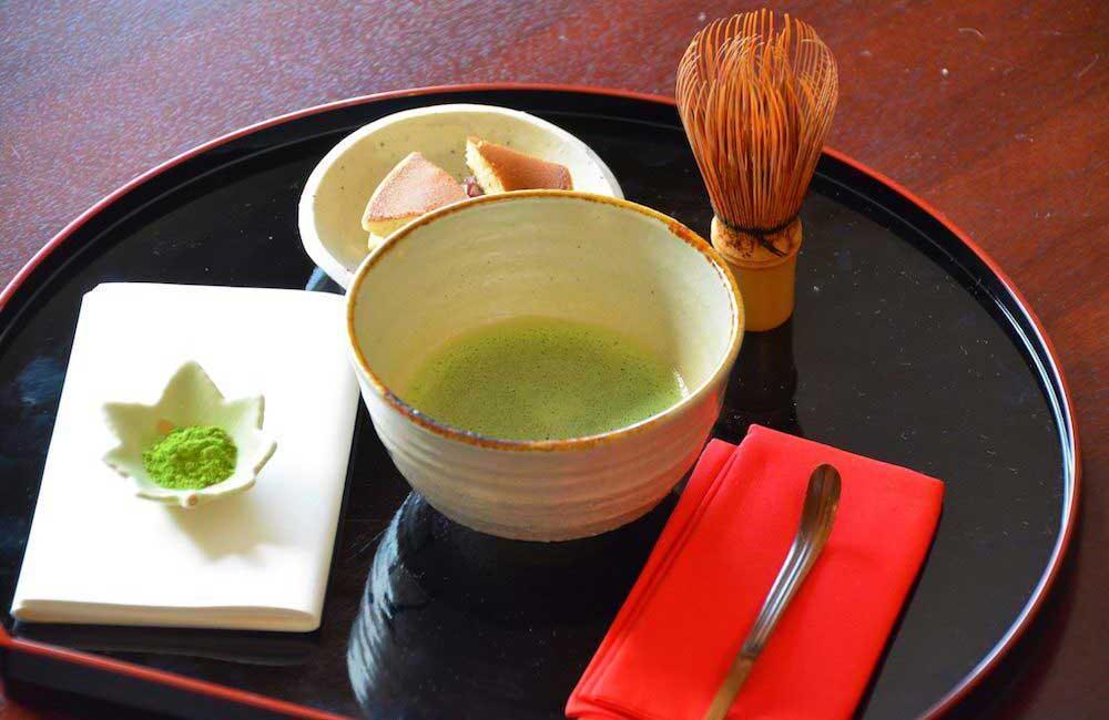 英語で説明する【茶道とお茶のいただき方】